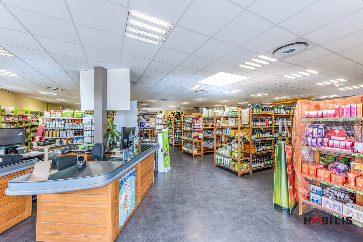 Agenceur magasin alimentaire 38